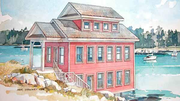 Boathouse Barn Owl Designs Southern Living House Plans