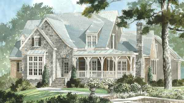 English cottage house plans southern living house plans for Southern living cottage floor plans