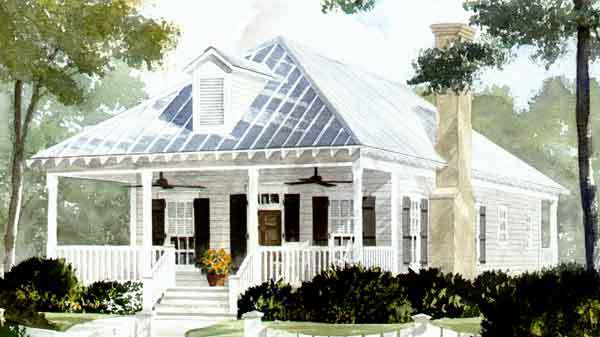holly grove - john tee, architect | southern living house plans
