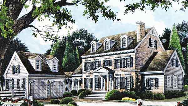 chestnut lane - stephen fuller, inc. | southern living house plans
