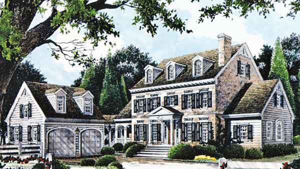 Chestnut Lane Stephen Fuller Inc Southern Living House Plans