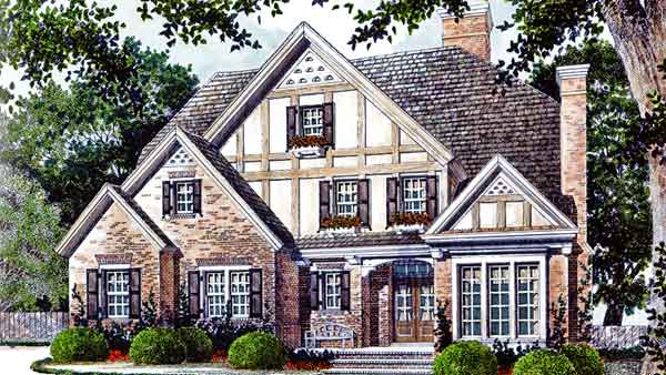 Magnolia Place Stephen Fuller Inc Southern Living House Plans