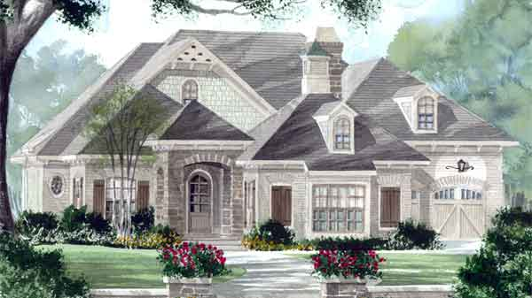 Southern Living House Plans | French Country House Plans