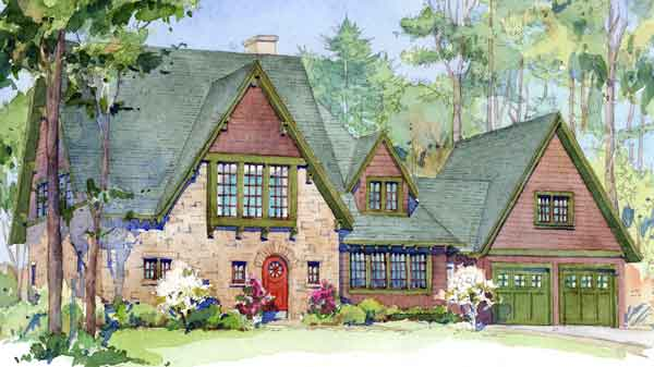 sl 1670 - English Cottage House Plans
