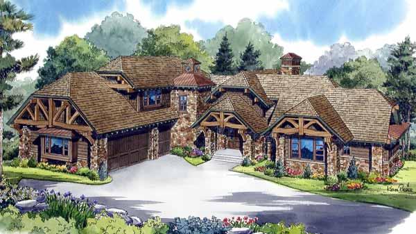 Big Sky Lodge - Ken Pieper and Associates LLC | Southern Living ...