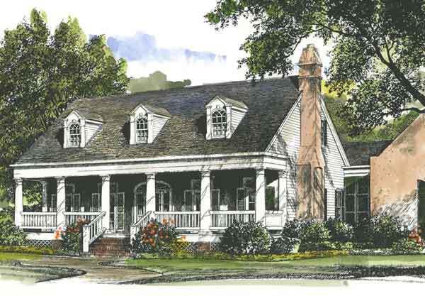 Louisiana Garden Cottage - John Tee, Architect | Coastal Living ...