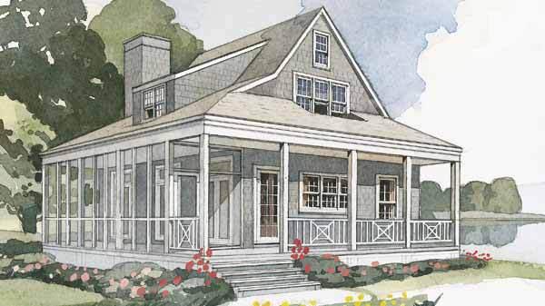 Nautical Cottage Scott Ziegler Southern Living House Plans