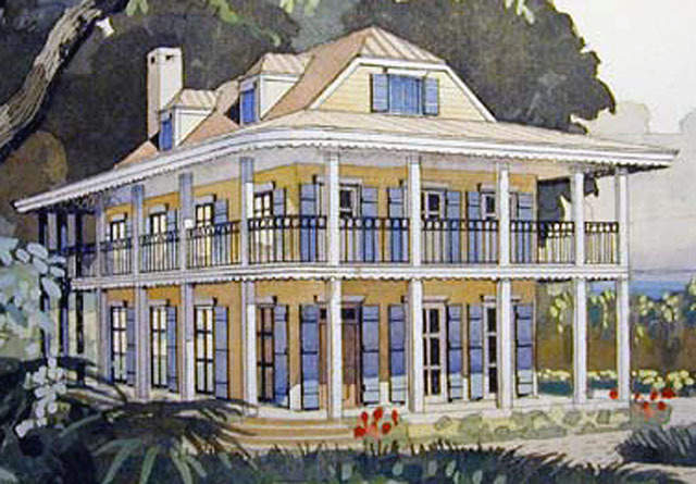 Caribbean getaway coastal living southern living house for Coastal living house plans