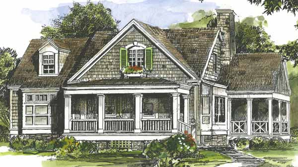 European House Plans | Southern Living House Plans