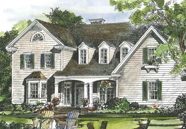 New england cottage house plan house design plans for New england house plans