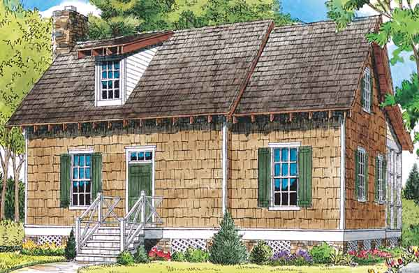 sl 983 - Cabin House Plans