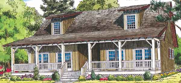sl 985 - Cabin House Plans