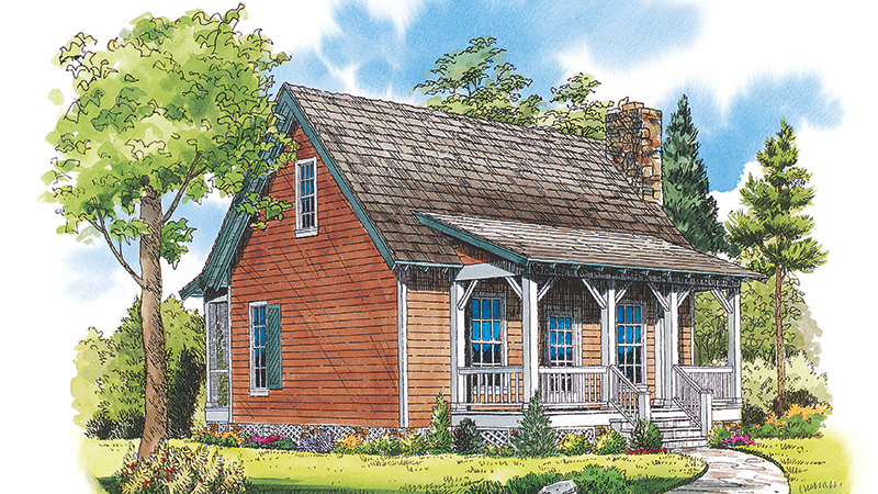 Sl 988 fcr 21 Tiny House Plans  Southern Living