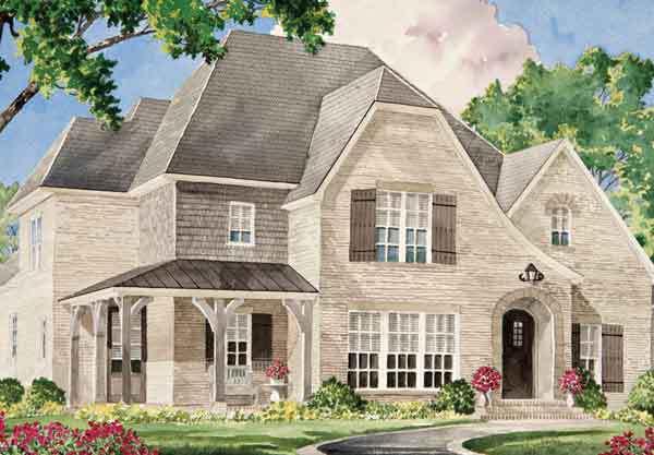 Kilburne Frusterio Associates Southern Living House Plans