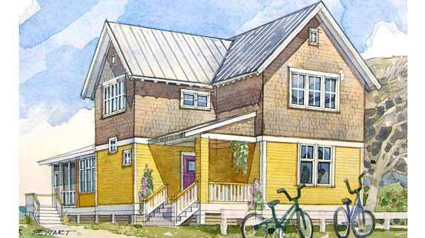 Summer Cottage Coastal Living Southern Living House Plans