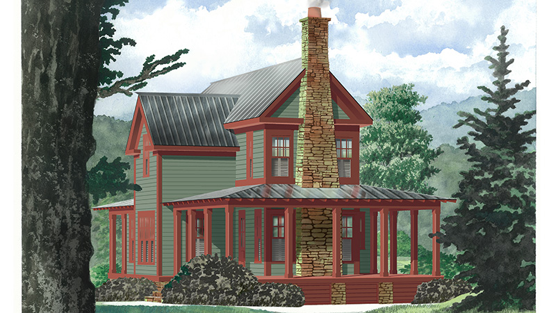 Fieldstone lodge biltmore estate southern living house plans