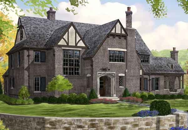 English cottage house plans southern living house plans for Old english cottage house plans