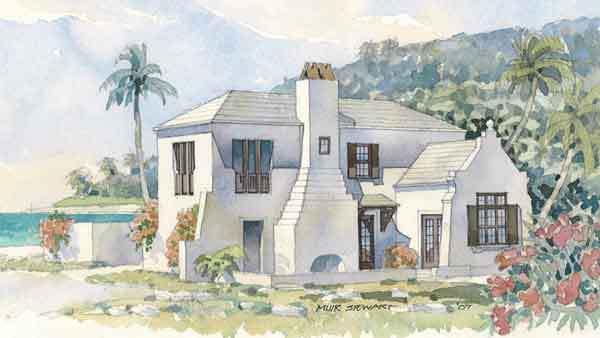 island villa - coastal living | southern living house plans