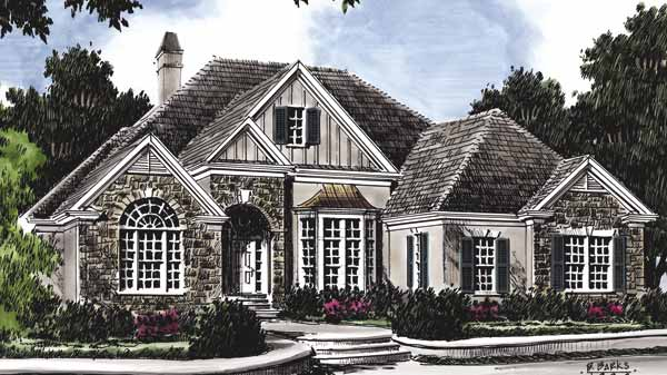 Southern living house plans french country house plans for Southern country house plans