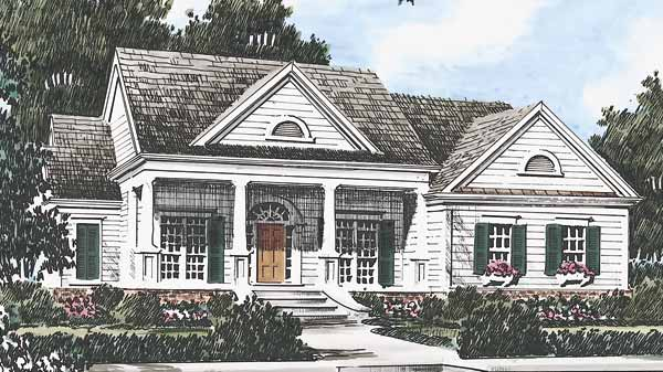 Southern living house plans greek revival house plans for Southern style ranch home plans