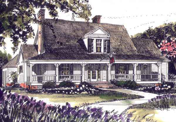 Round Hill John Tee Architect Southern Living House Plans