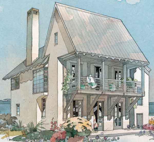 Coastline Cottage Coastal Living Southern Living House Plans