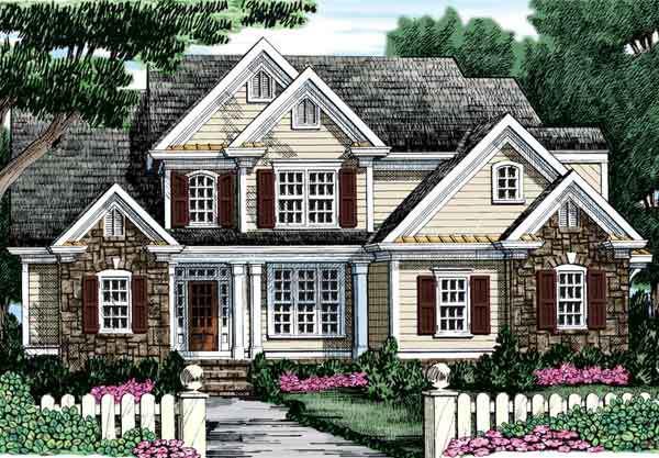The Willow Creek - Frank Betz Associates, Inc. | Southern Living ...