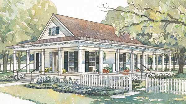 Bluffton Coastal Living Southern Living House Plans