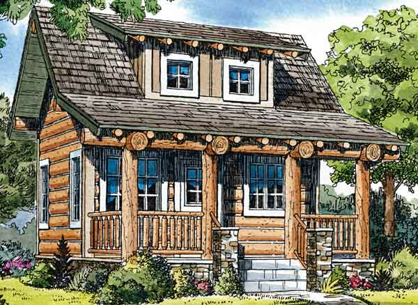 southern living log cabin house plans