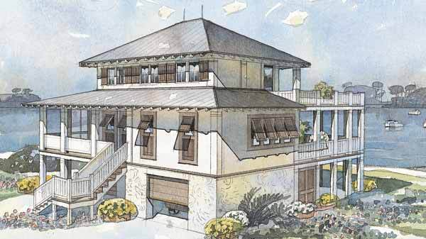 Mariner 39 s watch allison ramsey architects inc Allison ramsey house plans