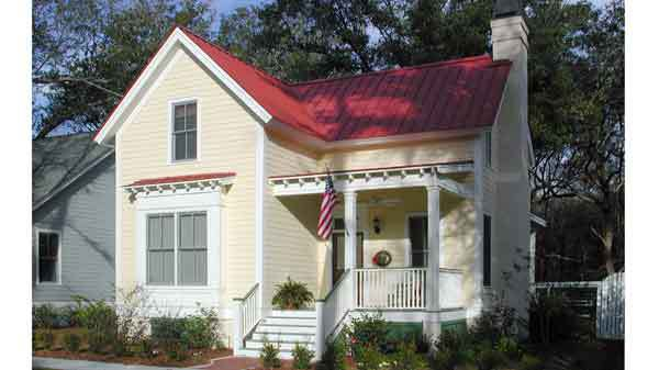 Simmons Creek Cottage - Moser Design Group   Sunset House Plans
