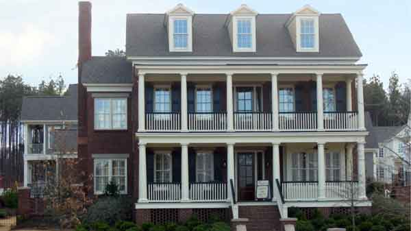 House Plans with Stacked Porches House Plans | Sunset House Plans