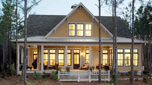 tucker bayou - st. joe land company | southern living house plans