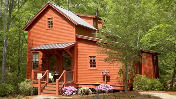 Lary backer style house