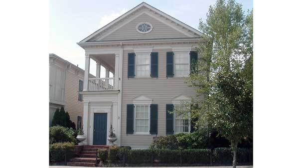 Anson park building science associates southern living for Charleston house plans narrow lots