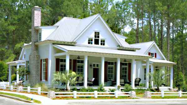 Cottage of the year coastal living southern living for Cottage style roof design