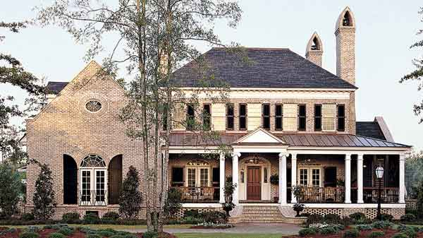 Building with Brick House Plans Southern Living House Plans