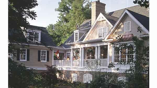 Farmhouse house plans southern living house plans for Southern country house plans