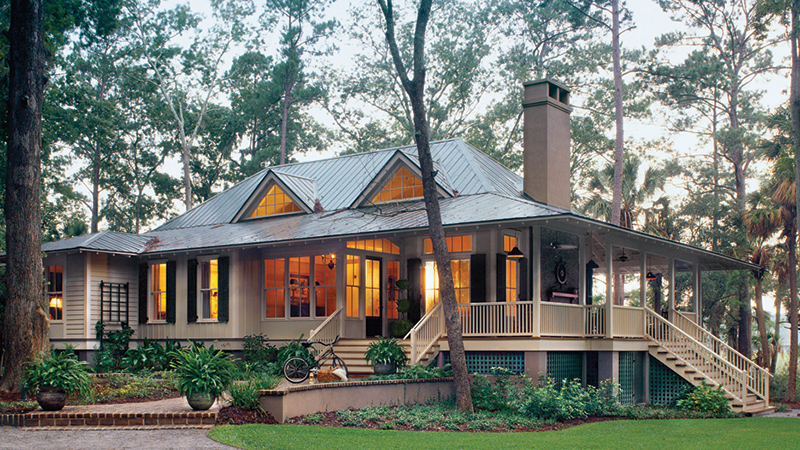 Wrap-around Porches House Plans | Southern Living House Plans
