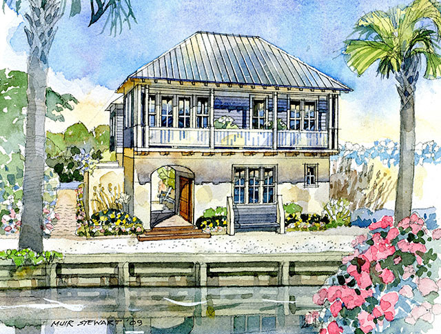 2009 i 39 on idea house coastal living southern living for Ideal house plan
