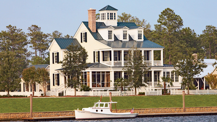 Captain\'s Watch - Coastal Living | Southern Living House Plans