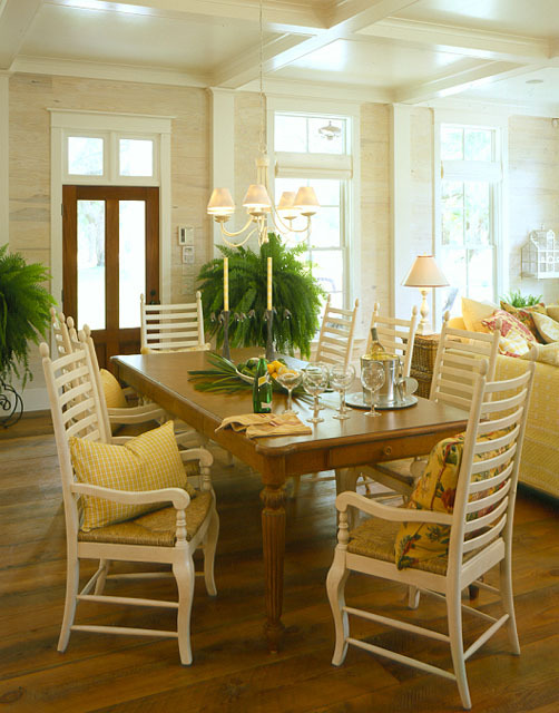 Cottage of the year coastal living southern living for Southern country home decor
