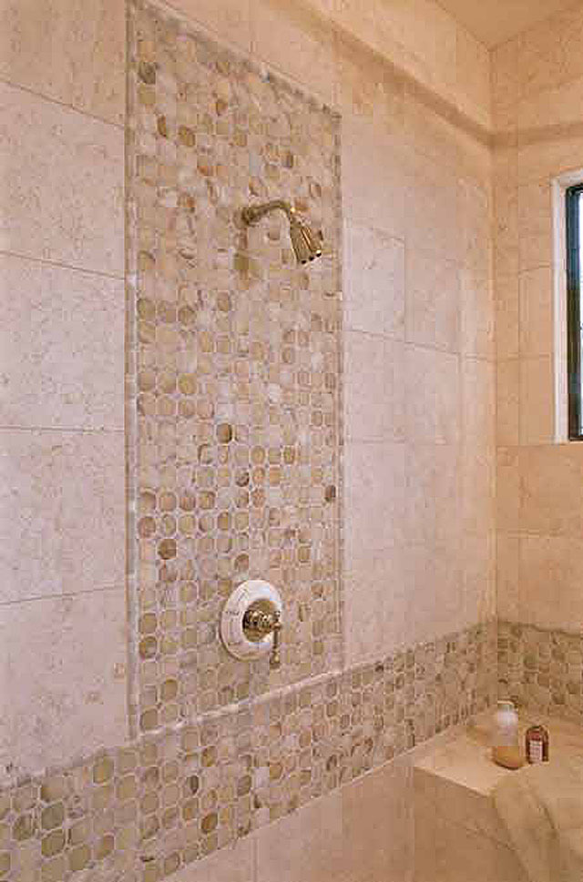 Master Bathroom Detail of Shower