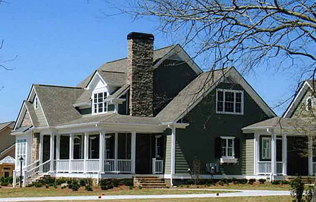 Shook hill mitchell ginn southern living house plans - Southern living home plans with photos collection ...