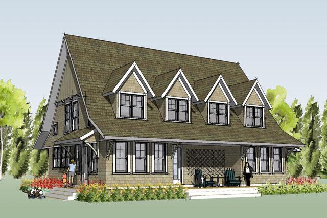 Marine Farmhouse - Simply Elegant Home Designs | Southern Living ...