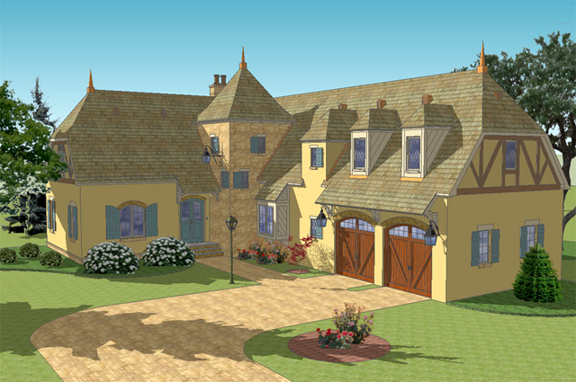 French country house plans southern living house plans for French country garage plans
