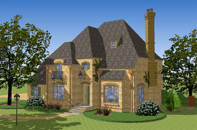 . french country House Plans   Southern Living House Plans