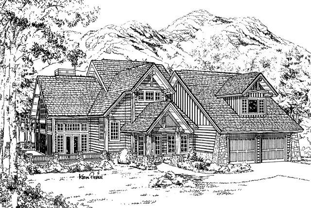 Aspen creek southern living house plans for Aspen house plans
