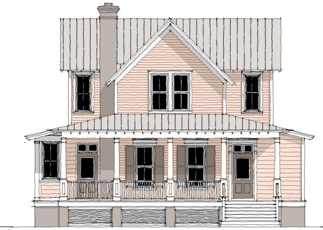 Aiken Ridge Moser Design Group Southern Living House Plans