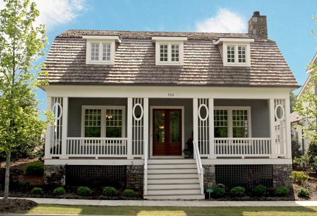 Craftsman House Plans   Southern Living House PlansSl pendleton frontelev c